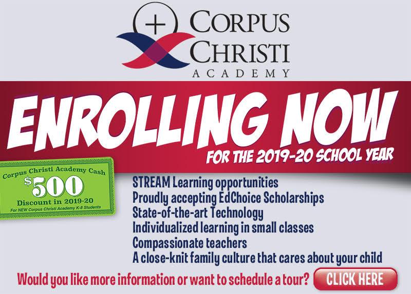Corpus Christi Calendar Of Events 2019 Events Calendar | Corpus Christi Academy
